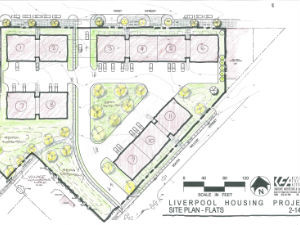Liverpool Housing Hand Sketch