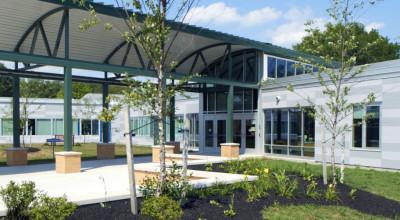 Cicero North Syracuse CSD - Smith Rd ES - Entry Landscaping