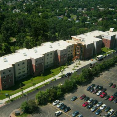 ESF Centennial Hall - Aerial