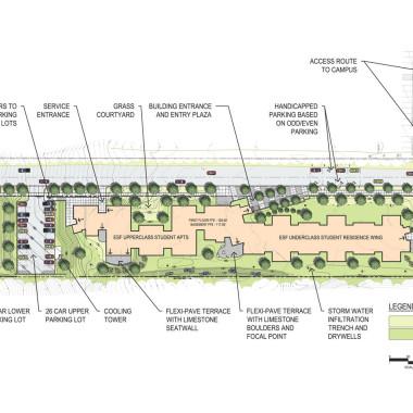 ESF Centennial Hall - Graphic Design