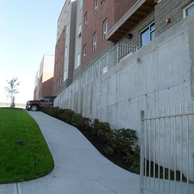 ESF Centennial Hall - Lower Walkway