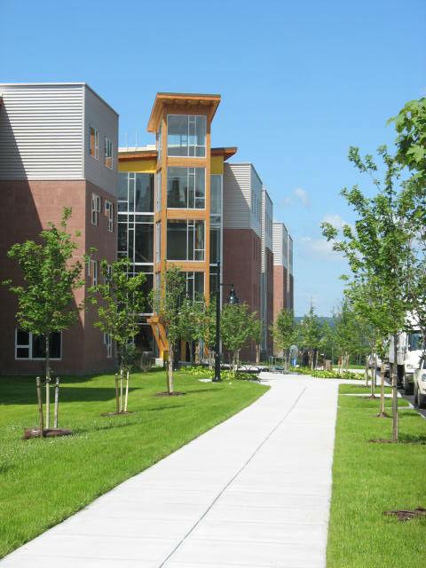 ESF Centennial Hall - Walkway