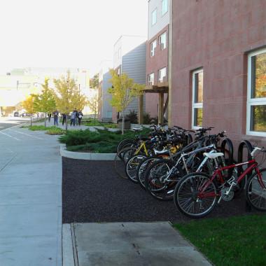 ESF Centennial Hall - bike rack