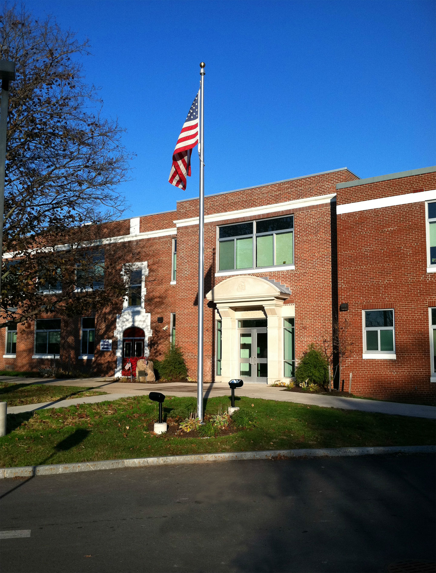 Hannibal School - District Office Entrance