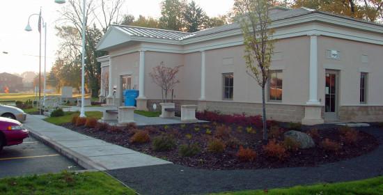 Salina Library - landscaping