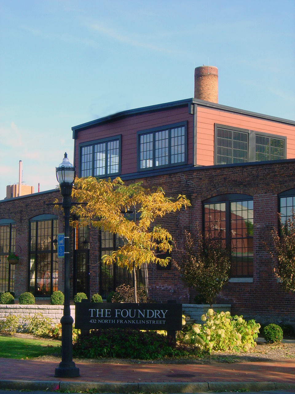 The Foundry front view close