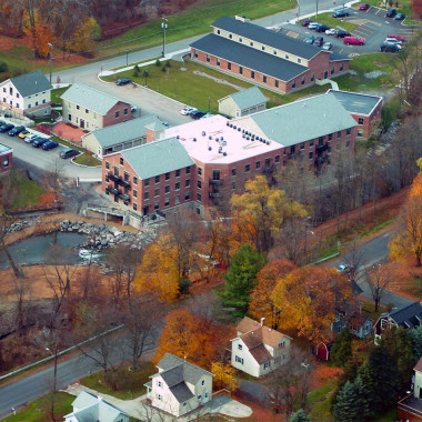 Upper Crown Mill - Aerial