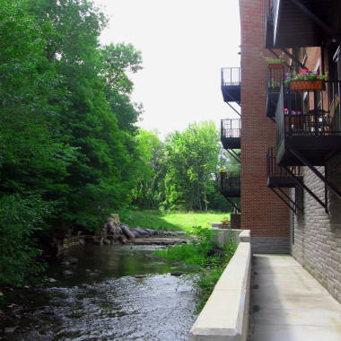 Upper Crown Mill - creek_view