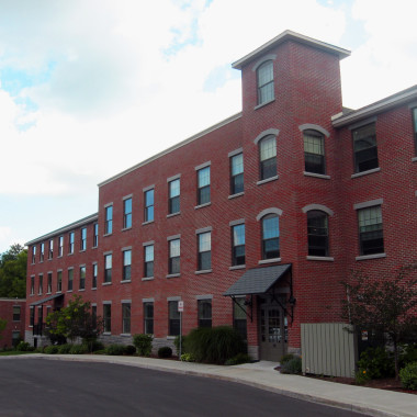 Upper Crown Mill - front view