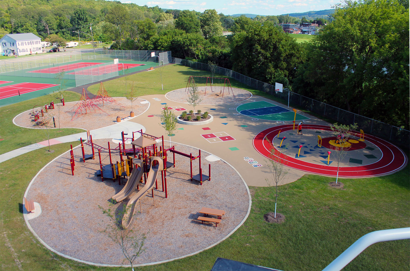 Whitney Point - CEA - Overall Playground